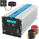 5000Watt Heavy Duty Modified Sine Wave Power Inverter DC 12volt to AC 120volt with LCD Display 4 AC Sockets Dual USB…