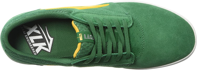 Lakai Men's Griffin XLK Sport Shoe Green Suede
