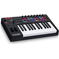 M-Audio Oxygen Pro 25 – USB MIDI Keyboard Controller With 25 Keys, Beat Pads, Assignable Knobs & Buttons, and Software…
