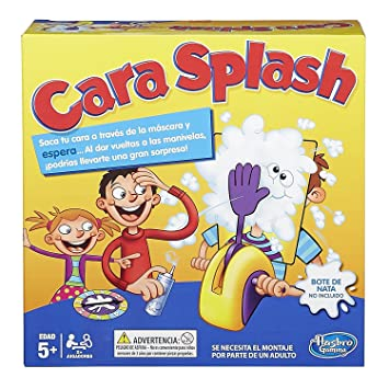 Games Cara Splash Hasbro B7063105 Amazon Es Juguetes Y Juegos