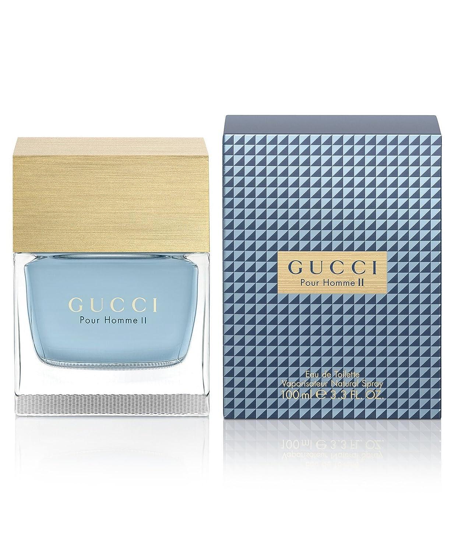 Gucci Pour Homme II Eau De Toilette Spray for Men, 3.3 Ounce