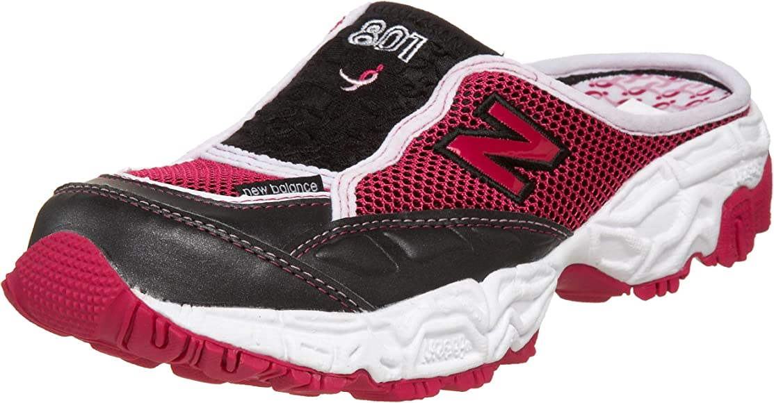 sports shoes 2aea5 7c815 New Balance Women s W801 Sneaker,Black Pink,10.5 D