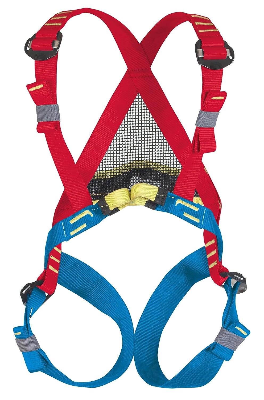 BEAL Bambi II - Arné s de escalada, color azul/rojo