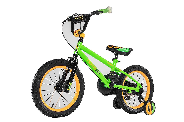 HITS(ヒッツ) Nemo 子供用 自転車 児童用 バイク 12インチ 小さなお子様も運転しやすいハンドブレーキモデル 男の子にも女の子にもぴったり 2歳 3歳 4歳 B07DQJLP18 グリーン グリーン