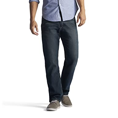 Lee Men s Regular Fit Straight Jean at Amazon Men s Clothing store  4861bfd270