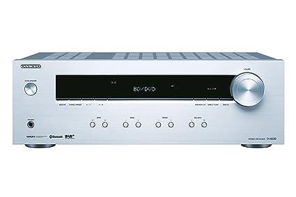 Onkyo TX-8220-S - Receptor estéreo, Color Plata: Amazon.es ...