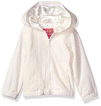 887fb443 Amazon.com: Pink Platinum Girls' Lace Embroidered Jacket: Clothing