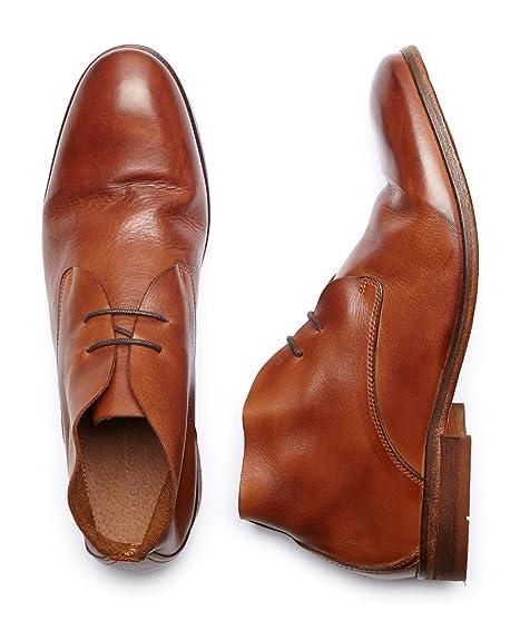 120c22d2d25 Selected Homme by Jack   Jones Hombre Botas shnantonio W0059 Boots Piel  marrón