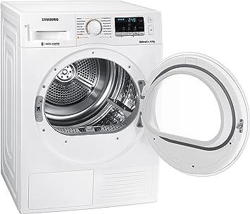 Samsung DV80M5210IW Independiente Carga frontal 8kg A+++ Blanco - Secadora (Independiente, Carga frontal, Bomba de calor, Blanco, Botones, Giratorio, ...