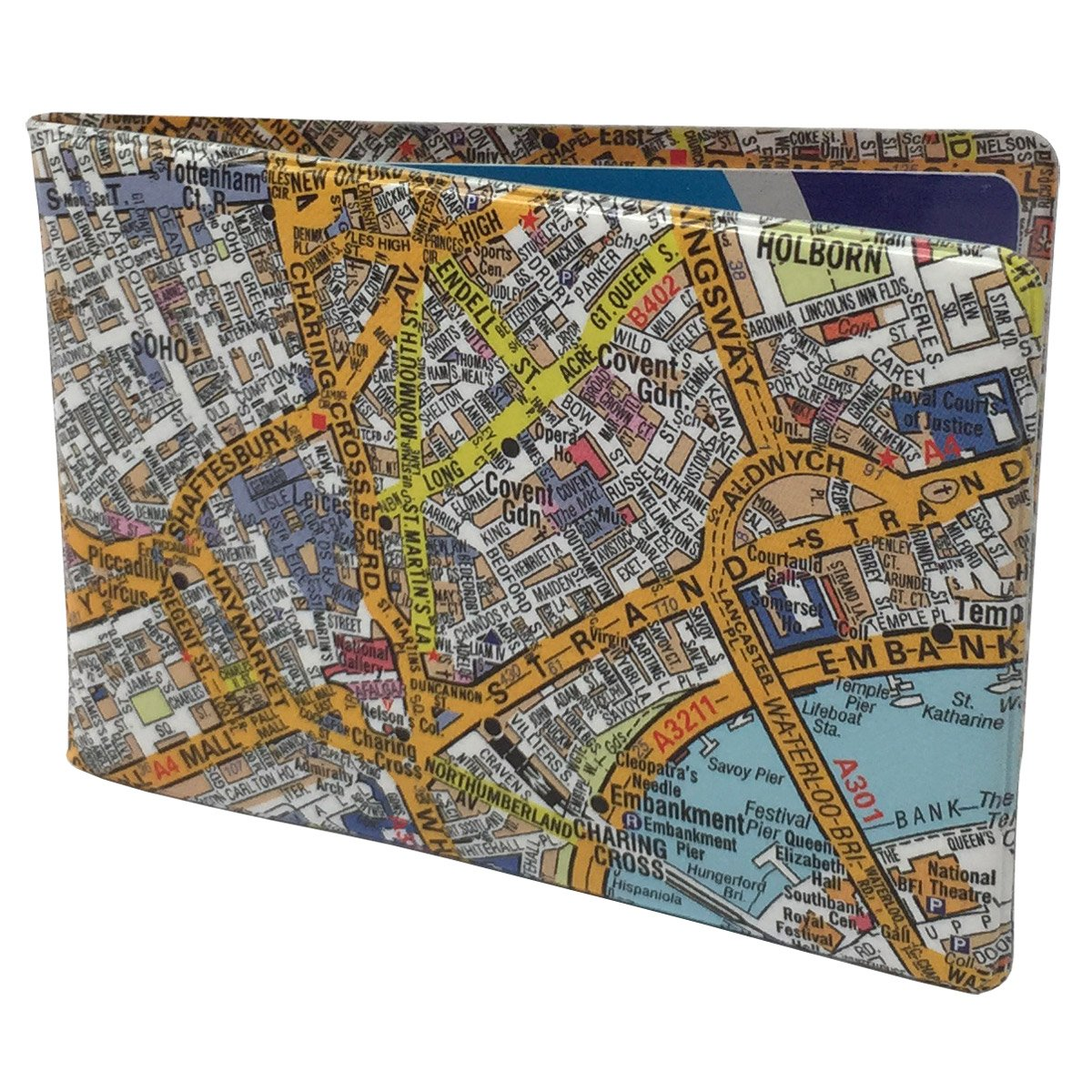 A-Z London Travel Oyster Card Wallet