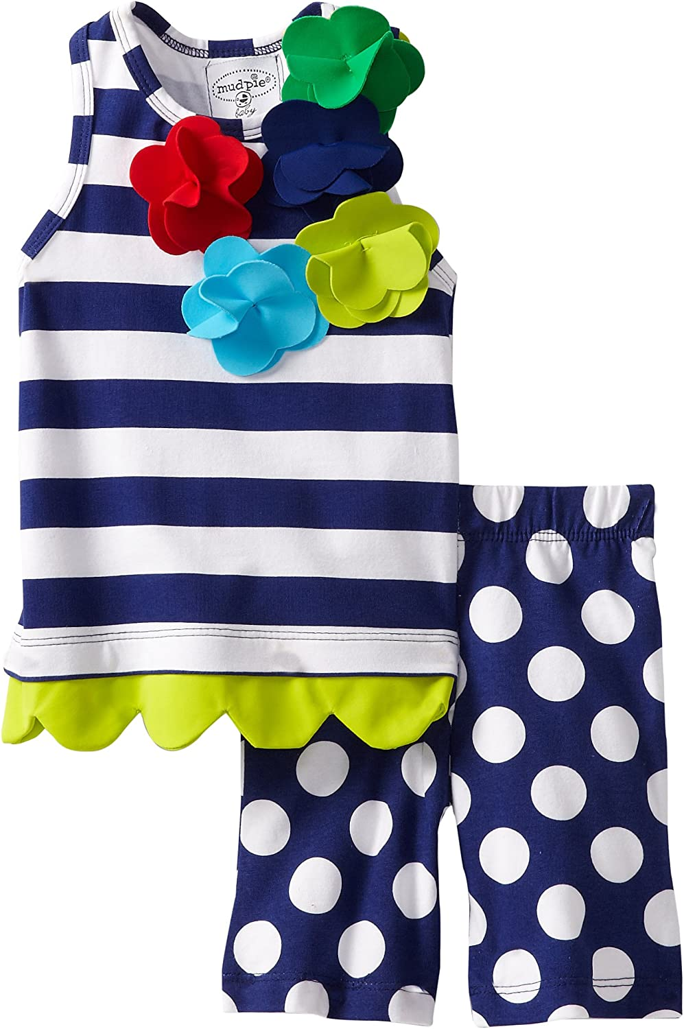 Mud Pie Boathouse Baby Whale Romper
