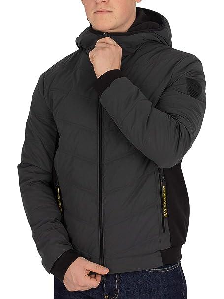 quality design 80c03 5cf3d Emporio Armani Giacca Piumino EA7 Uomo 6ZPB36 Anthra black ...