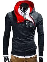 MT Styles Kapuzenpullover Hoher Kragen Pullover S-136