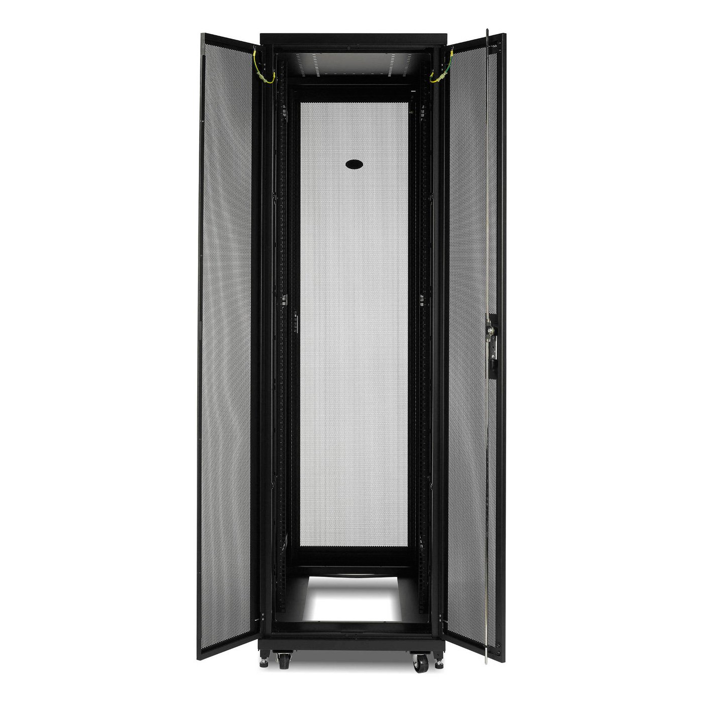 APC NetShelter SV 42U 800mm Wide x 1200mm Deep Enclosure with Sides Black AR2580 by APC CABLES