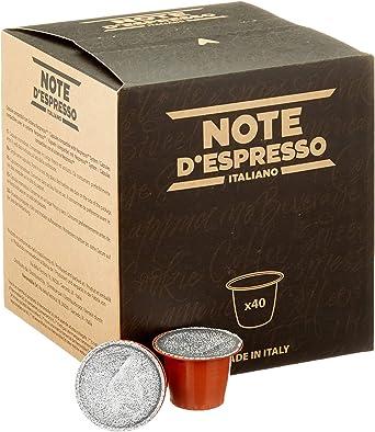 Note DEspresso - Cápsulas de manzanilla con miel y naranja, 6 g (caja de 40 unidades) Exclusivamente Compatible con cafeteras Nespresso*: Amazon.es: Alimentación y bebidas