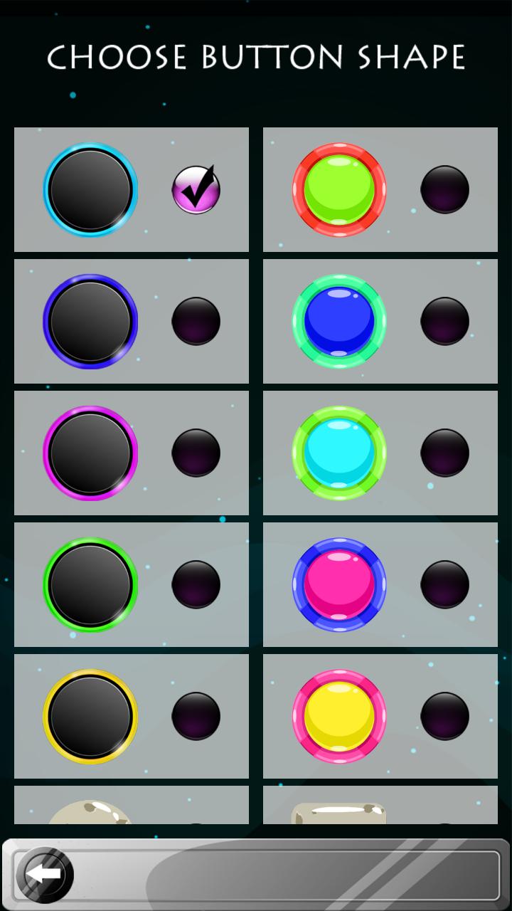 Neon Circles Teclados