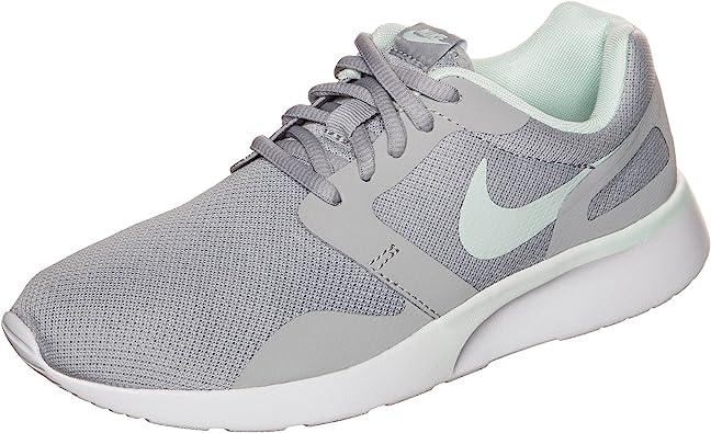 Intolerable Moral escalera mecánica  Nike WMNS Nike Kaishi - Zapatillas de cuero para mujer gris gris UK, mujer,  color WOLF GREY/FIBERGLASS, tamaño 10: Amazon.es: Deportes y aire libre