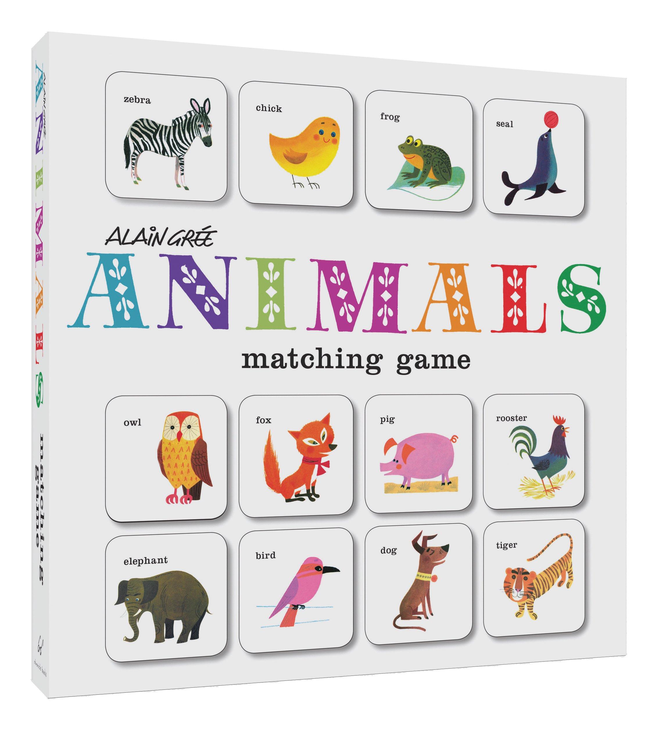 Alain Grée Animals Matching Game