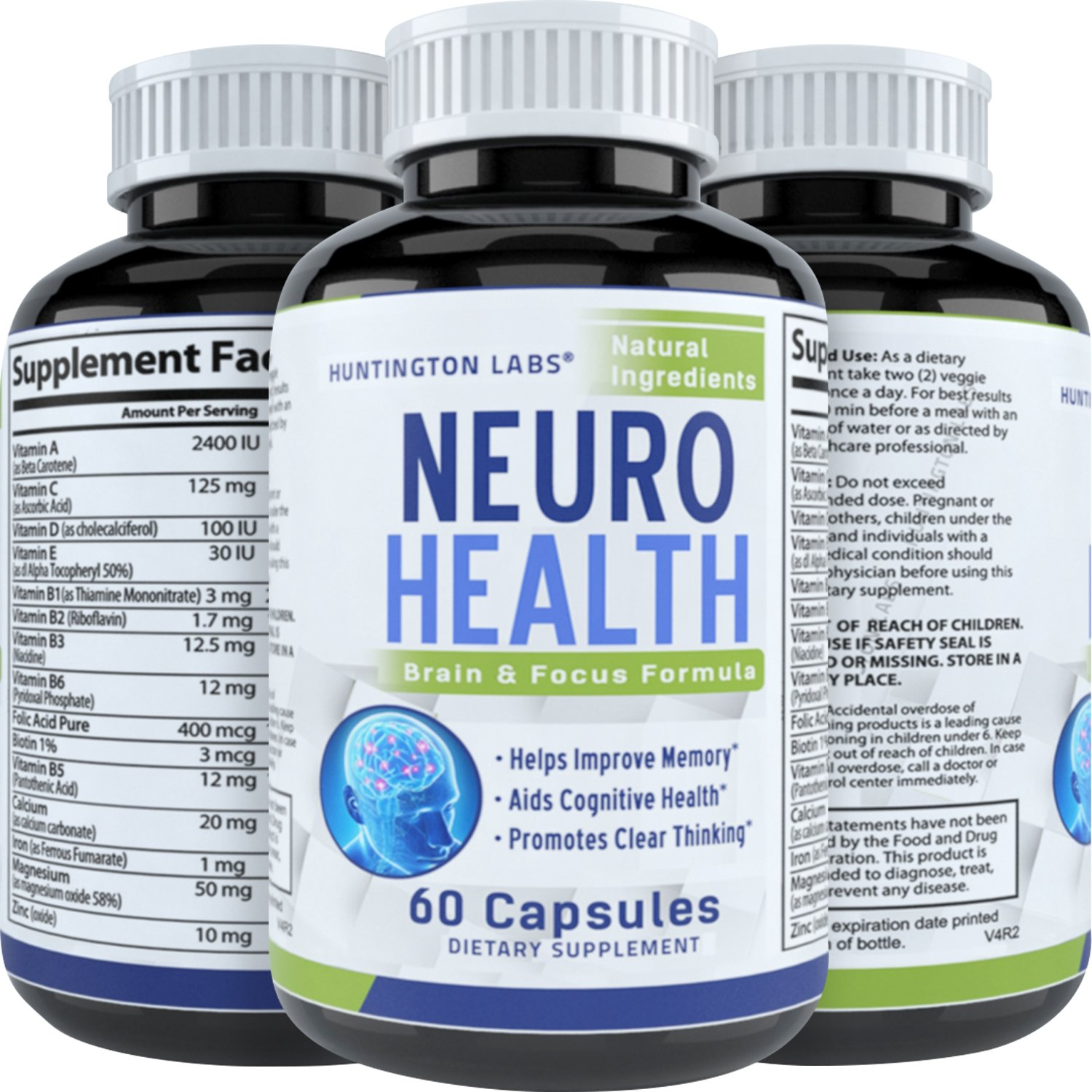 Vitamins for the brain and memory (reviews) 56