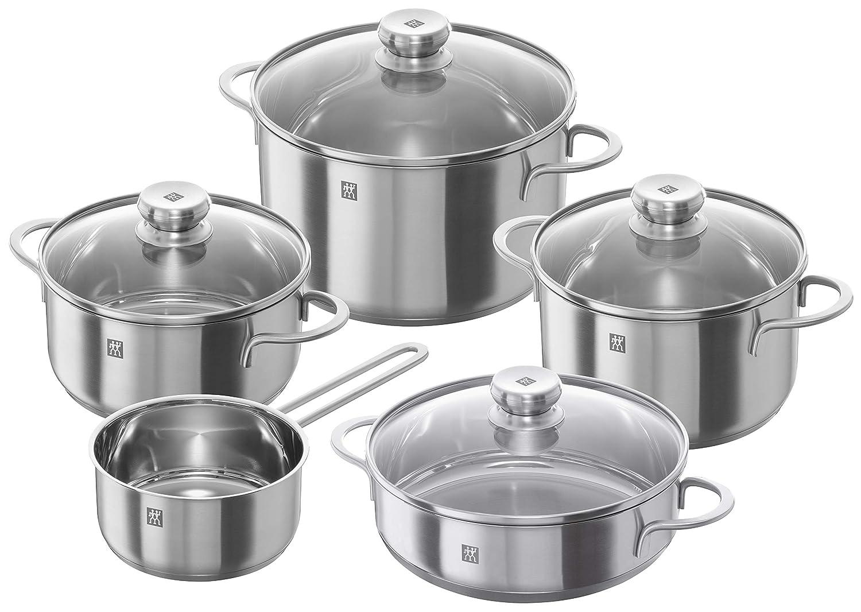 Zwilling Set 5 Twin Nova Cookware