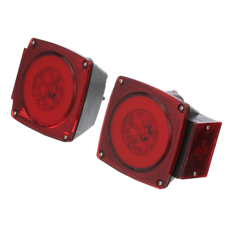 Seachoice 52752 LED グローライト 80インチ以下のコンビネーションテールライトキット ボートトレーラー用