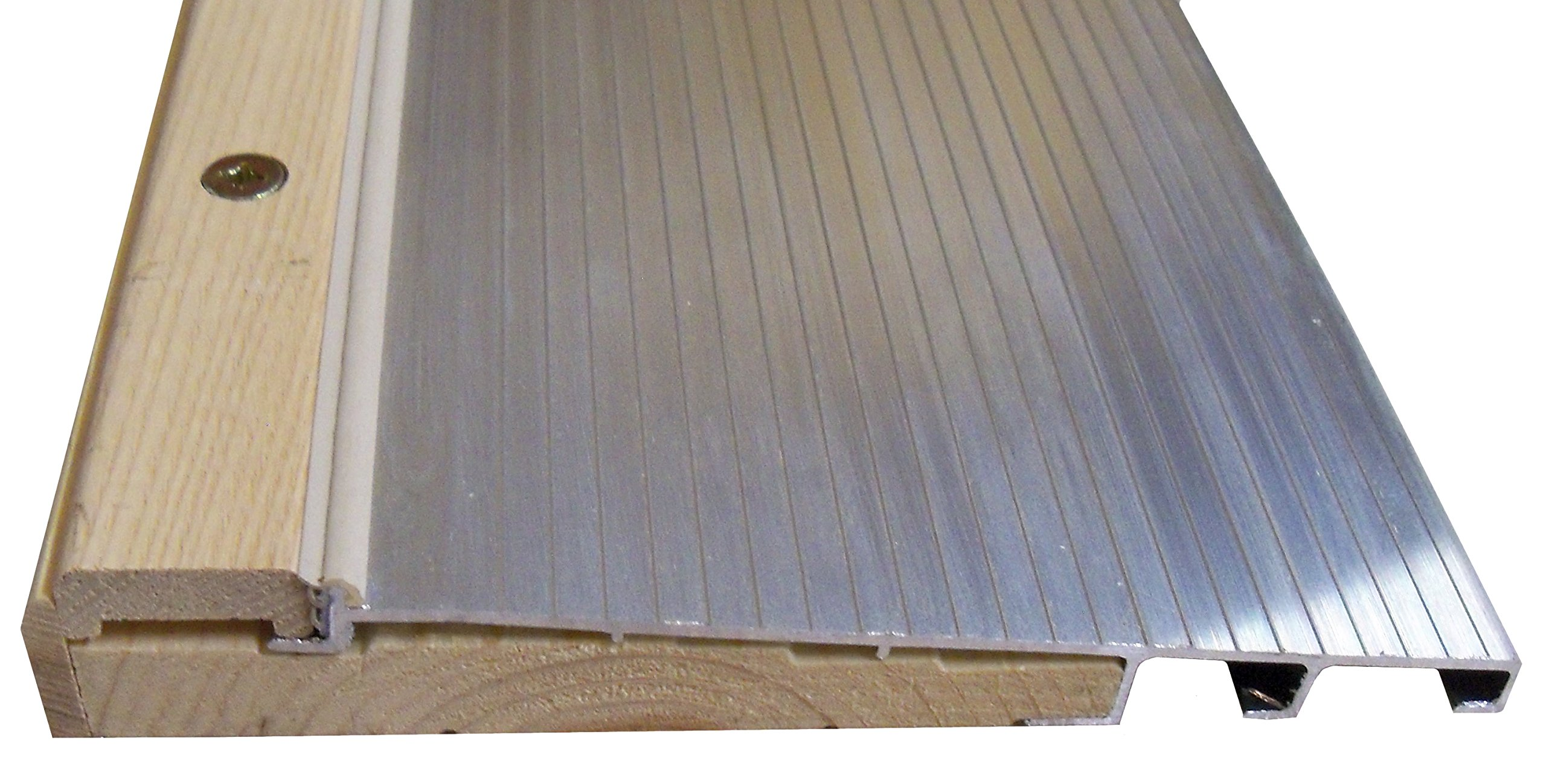 7 13/16'' Wide Inswing Threshold with Ash Cap with Pine Base (6' (72''), Anodized Aluminum (Mill))