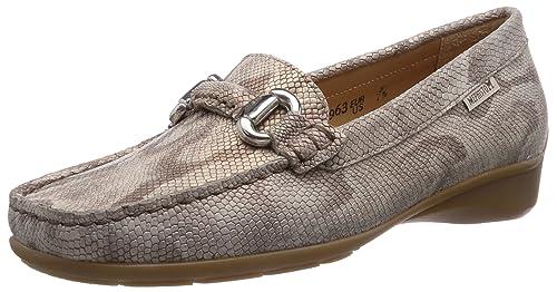 Mephisto NATALA PYTHON 7512 LIGHT SAND - mocasines de cuero mujer: Amazon.es: Zapatos y complementos