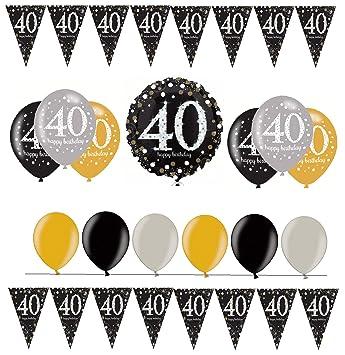 celebran fija para 40 cumpleaños I 14 piezas Globo de aire ...