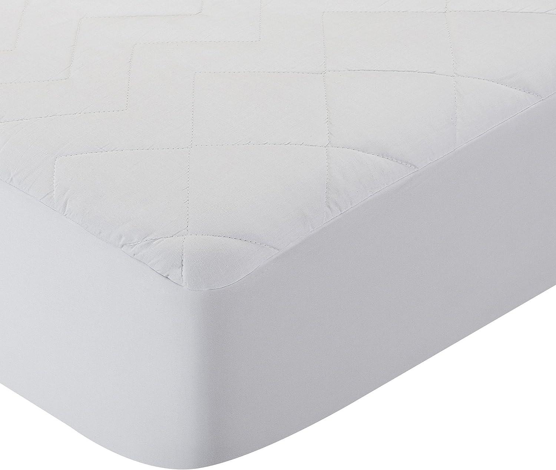 Pikolin Home - Protector de colchón/Cubre colchón acolchado, impermeable, antiácaros, 60x120cm-Cuna (Todas las medidas)