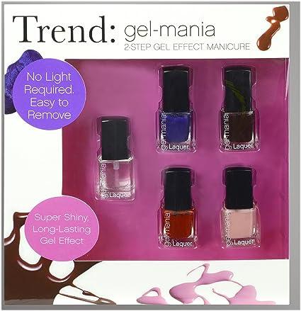 Trend Esmaltes de Uñas Efecto Gel - 1 pack: Amazon.es: Belleza