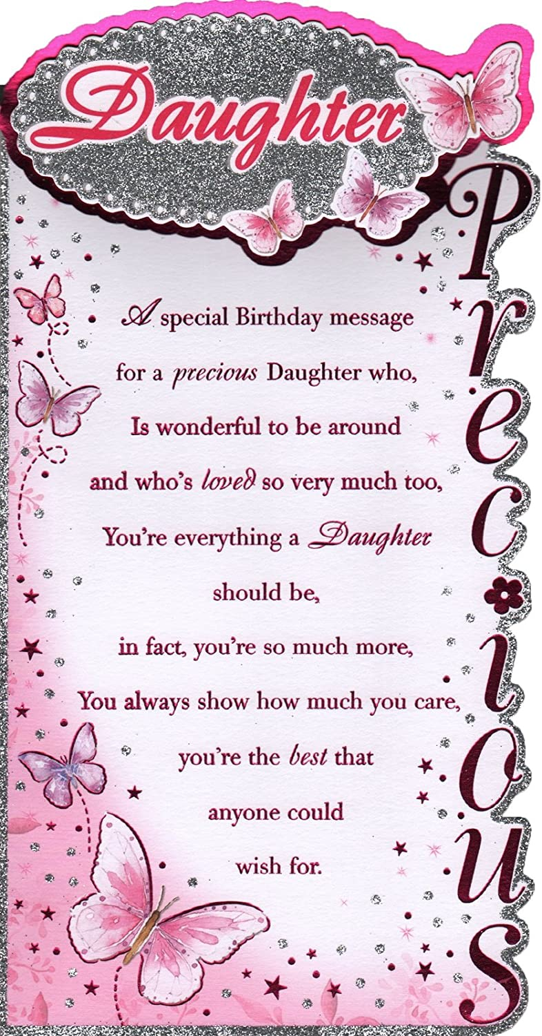 Happy birthday daughter card choice image birthday cake decoration daughter birthday card happy birthday to a very special daughter daughter birthday card happy birthday to bookmarktalkfo Images