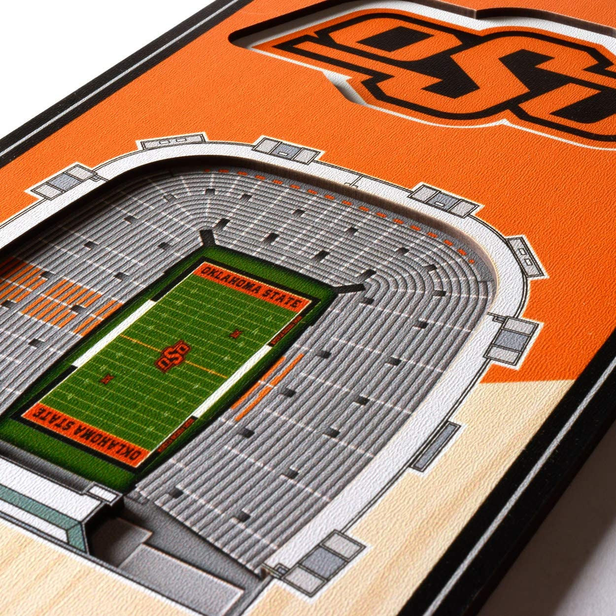 YouTheFan NCAA 3D Stadium Banner 6 x 19 Inches