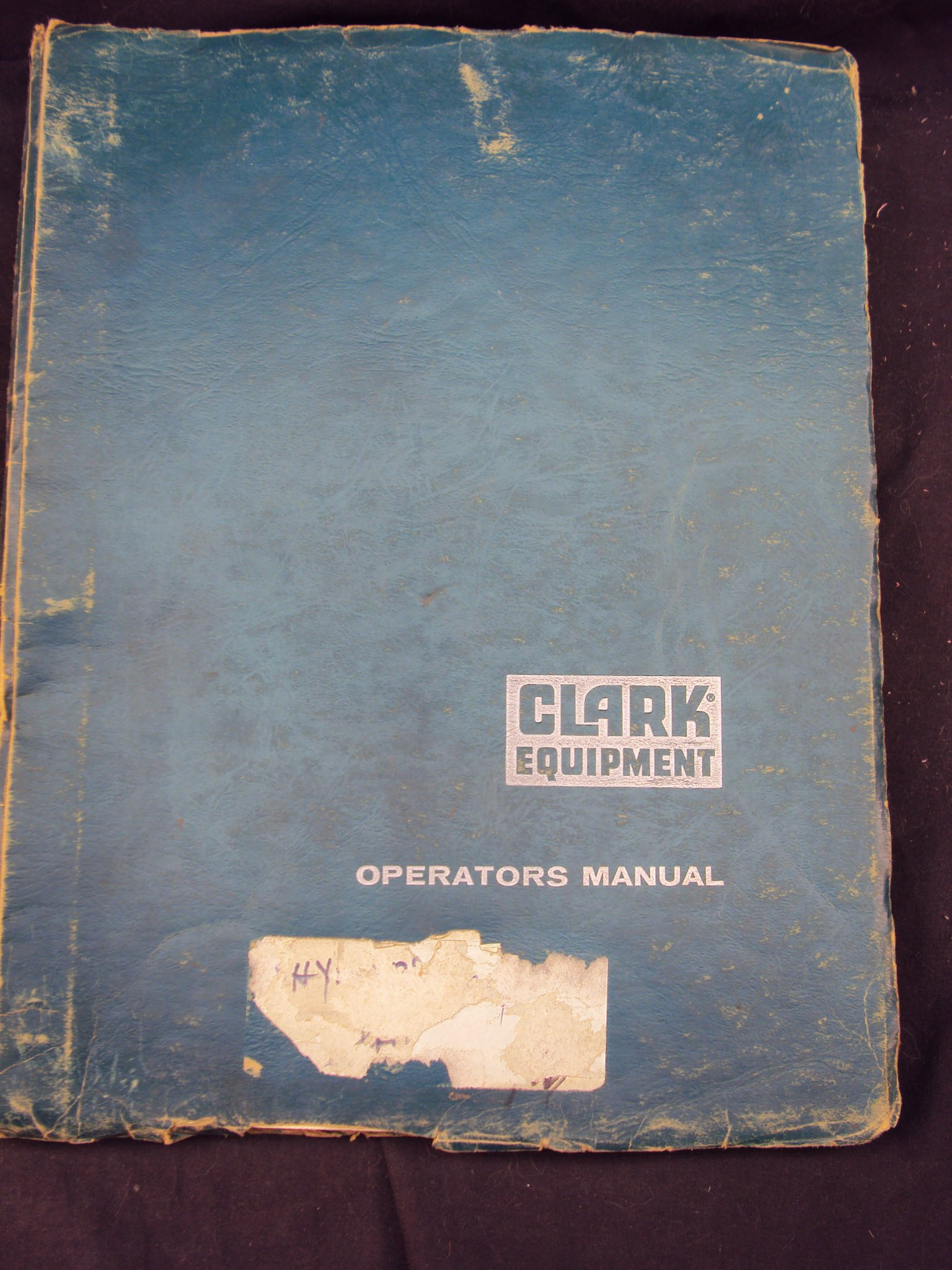 Clark Equipment Forklift CFY 150B Thru 250B, CHY 150B Thru CHY 250B  Operators Owner Manual: Clark Equipment: Amazon.com: Books