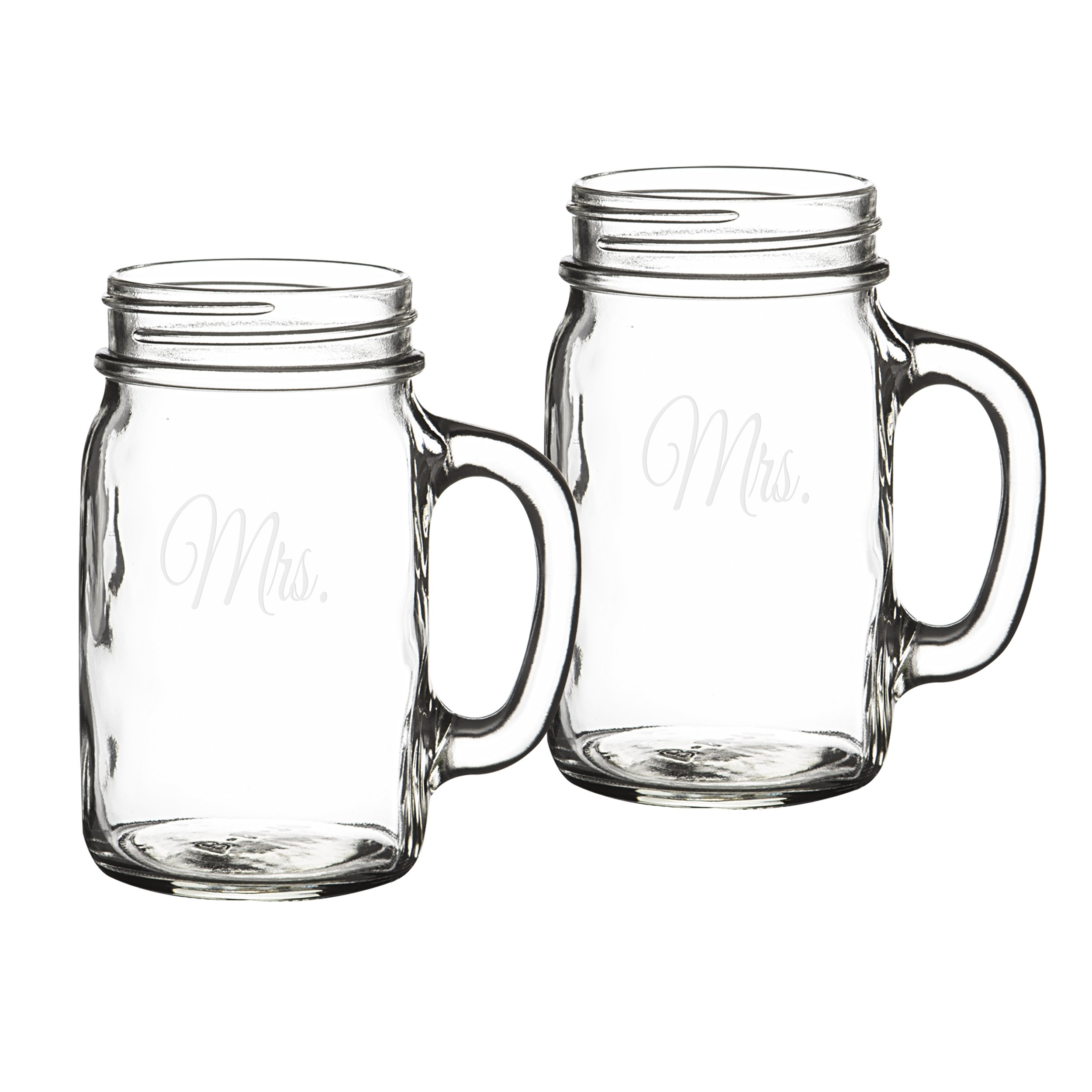 Cathy's Concepts Mrs. & Mrs. Old Fashioned Drinking Jar Set by Cathy's Concepts (Image #8)