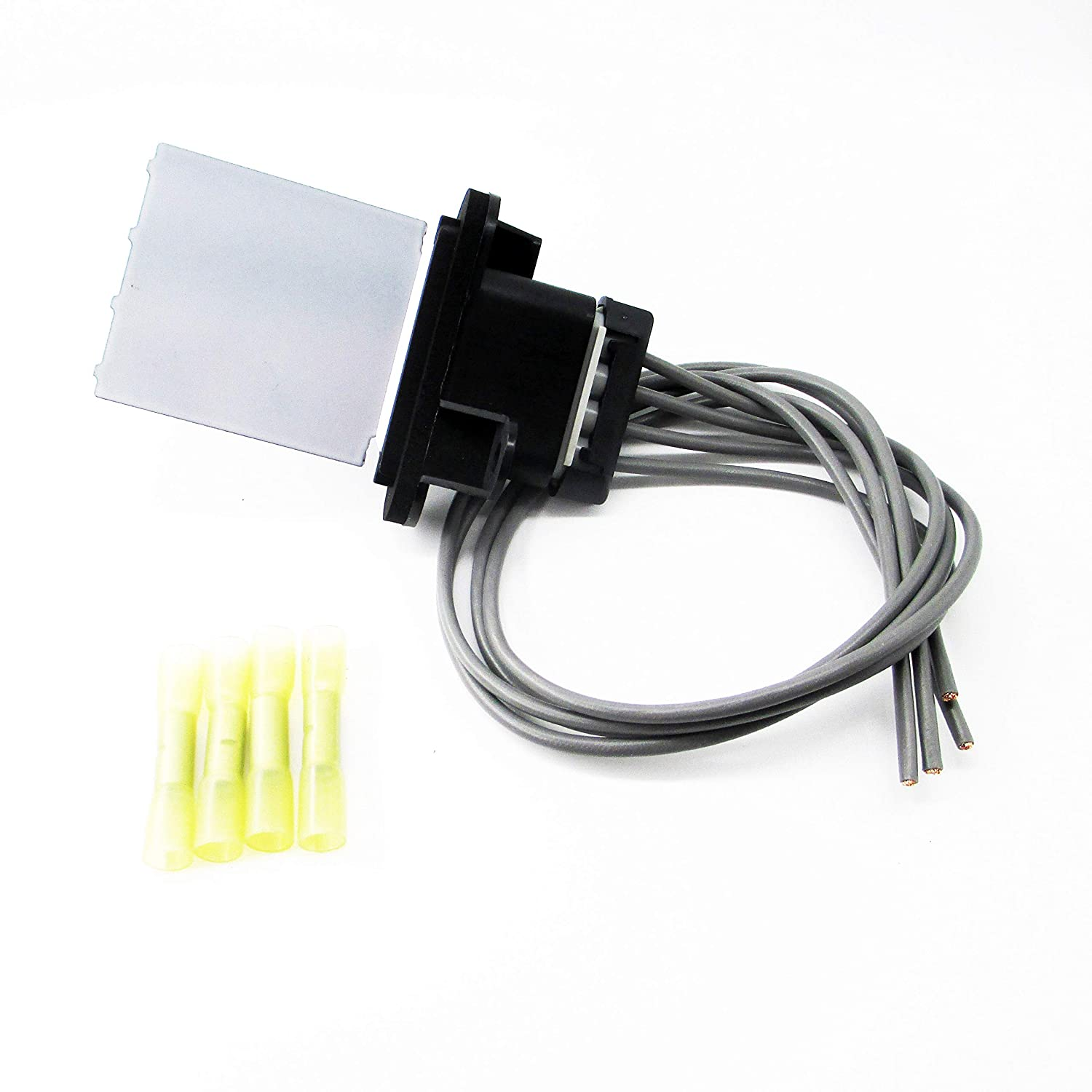 Blower Motor Resistor Kit With Wiring Harness for 2005-2017 Toyota Tacoma
