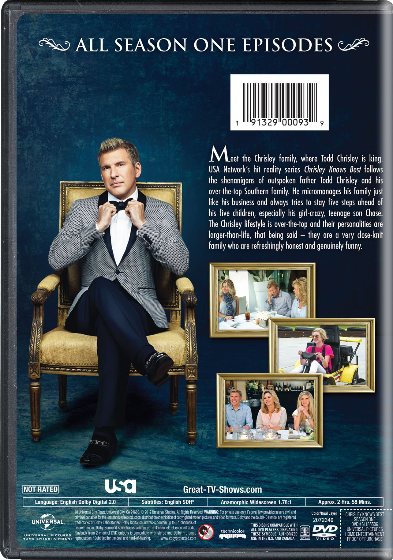 Chrisley Knows Best: Season One by Universal Studios