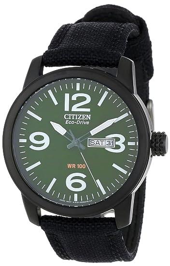 Citizen BM8475-00X - Reloj , correa de tela color negro: Amazon.es: Relojes