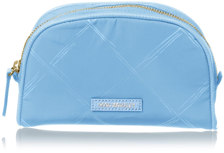 1286bf830077 Vera Bradley Preppy Polyester Small Cosmetic Bag, Sky Blue, One Size ...