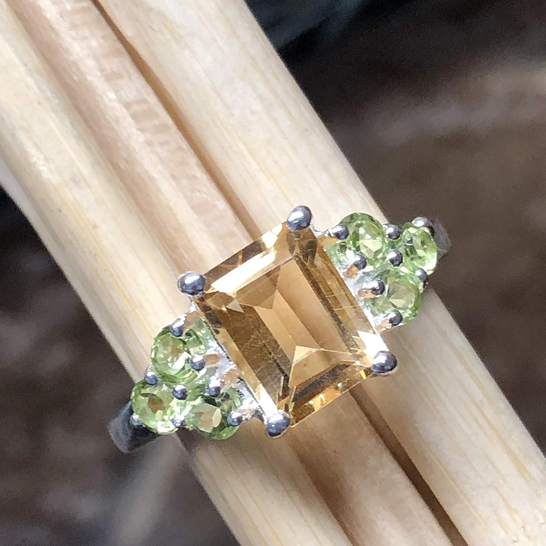 Natural Citrine Cabs RingGemstone Ring925 Sterling Silver RingFine Silver RingStatement RingMix Shape RingFor GirlsWomen SK-173