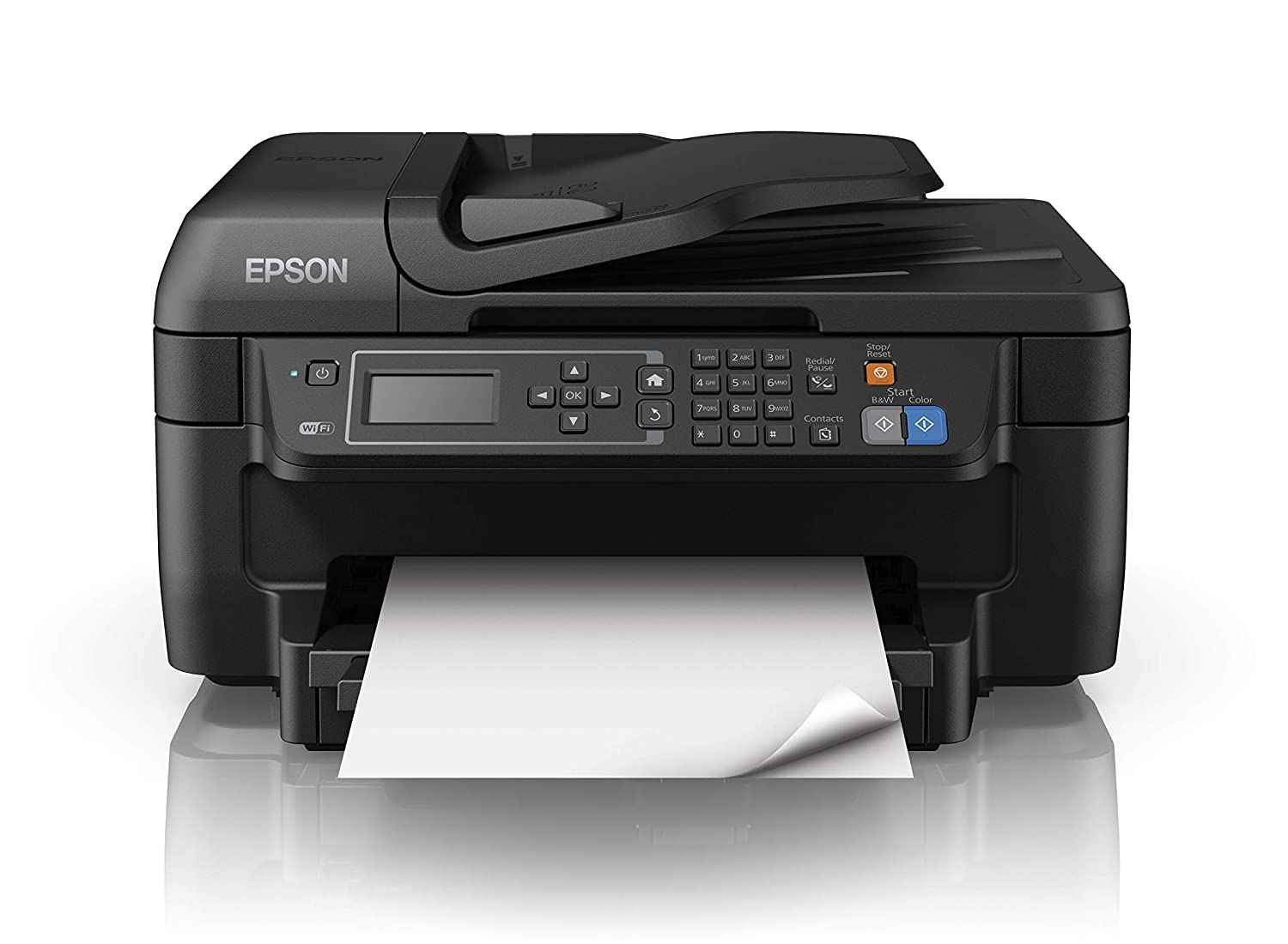 Amazon.com: Epson Workforce Wf-2750dwf 4800x1200dpi 33ppm a4 ...