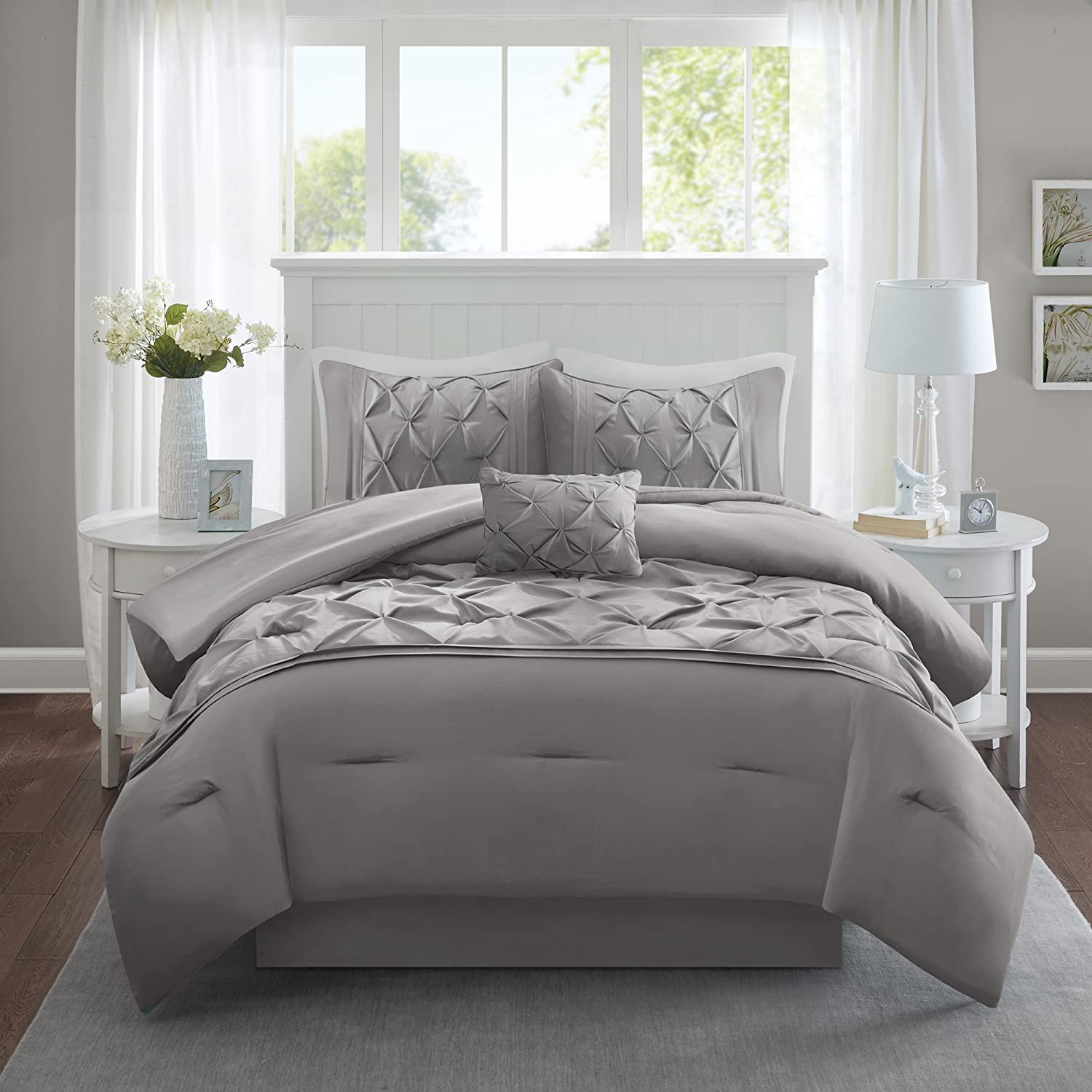 Comfort Spaces – Cavoy Comforter Set - 5 Piece – Tufted Pattern