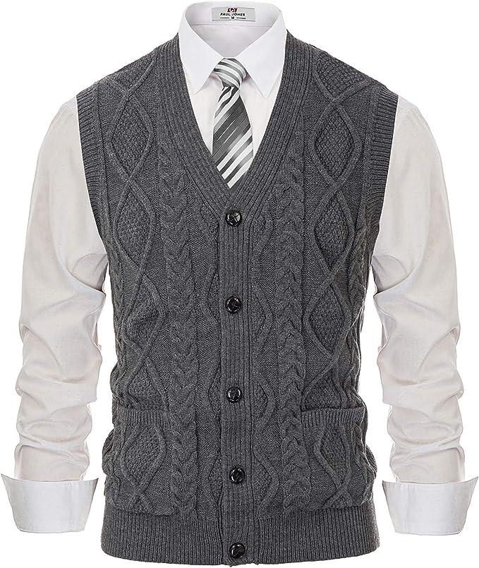 PJ PAUL JONES Men's Sweater Vest