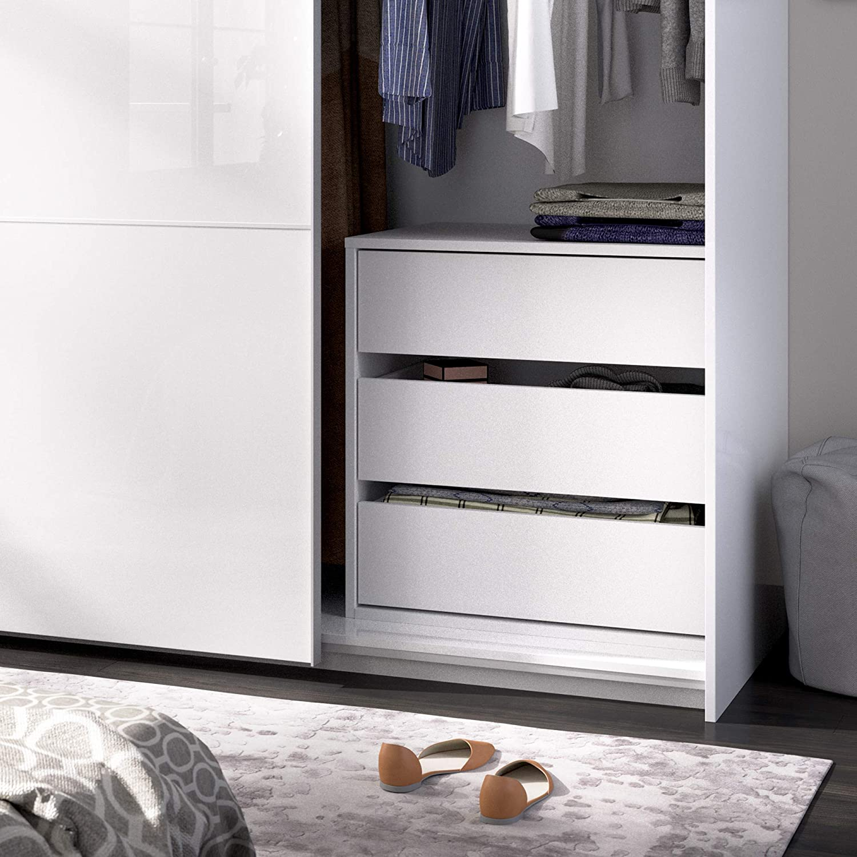 White 60 x 60 x 45 cm Homekit Drawer for Interior Wardrobe