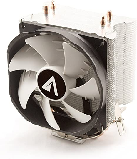 Abysm Snow II - Ventilador CPU de 2 Heatpipes, Color Negro: Amazon ...