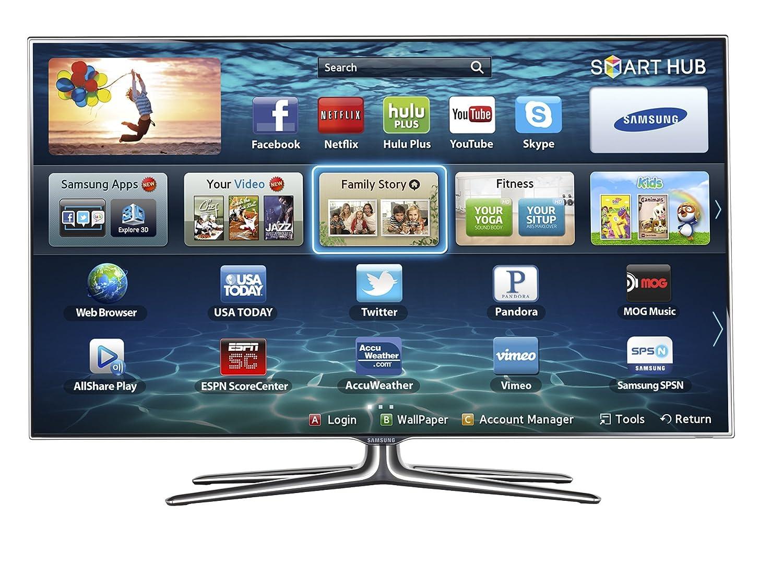 amazon com samsung un55es7100 55 inch 1080p 240hz 3d slim led hdtv rh amazon com manual tv led samsung 4000 manual tv led samsung 4000