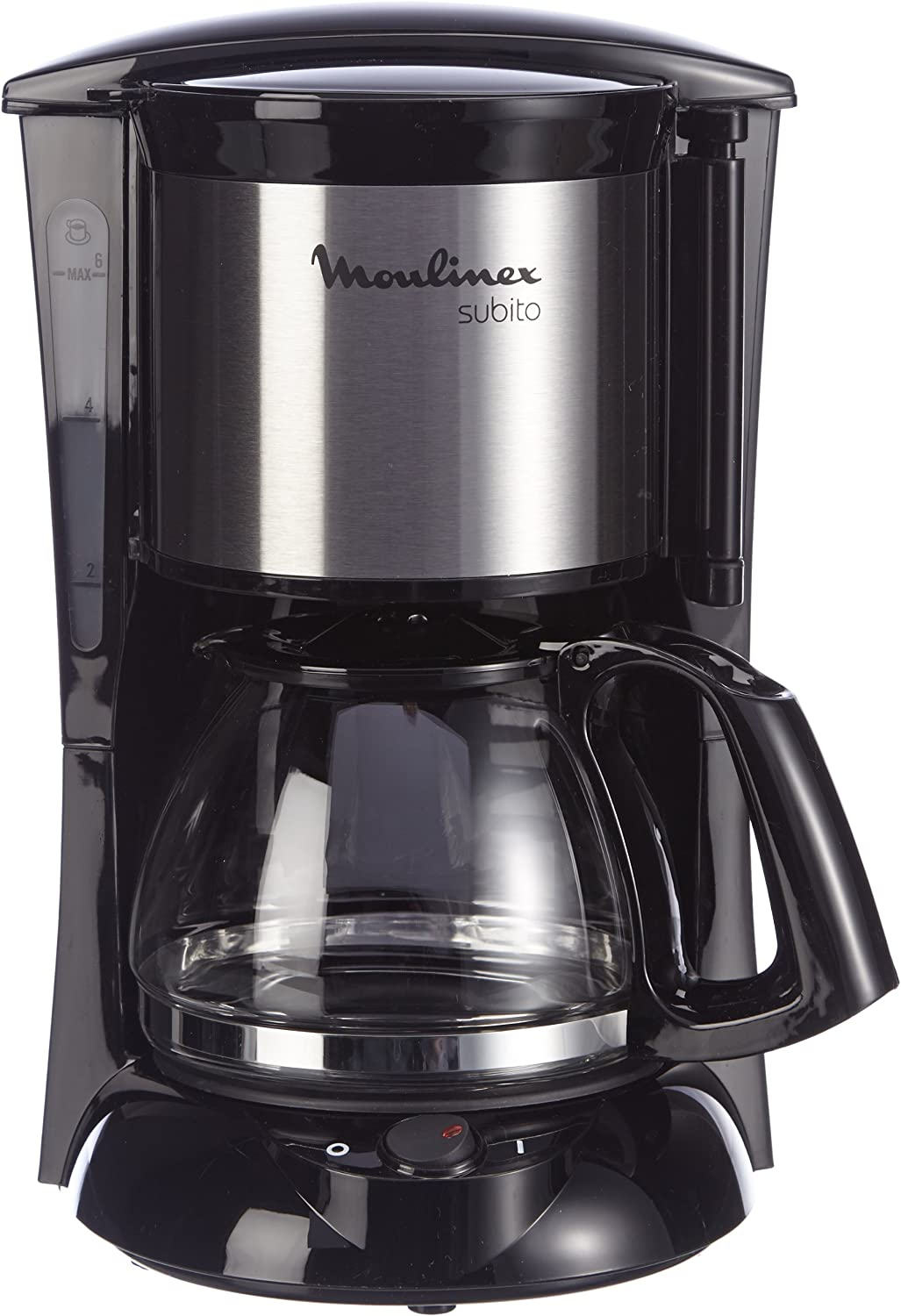 Moulinex FG1508 - Cafetera de goteo, 650 W, color negro: Amazon.es ...