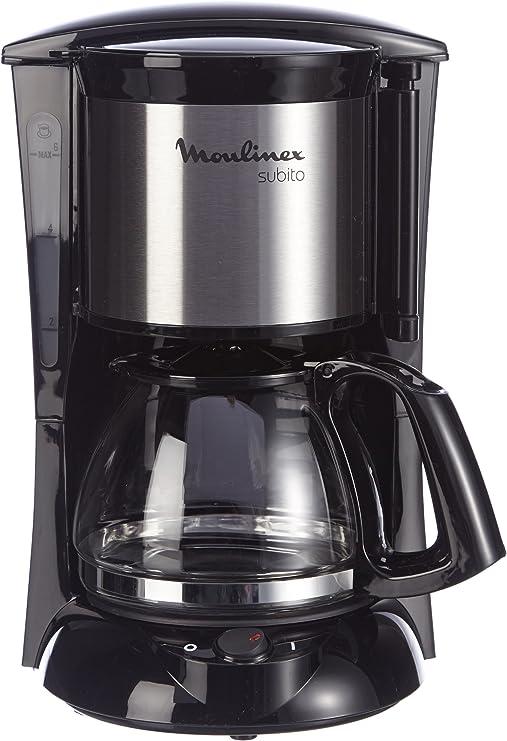 Moulinex FG1508 - Cafetera de goteo, 650 W, color negro: Amazon.es ...