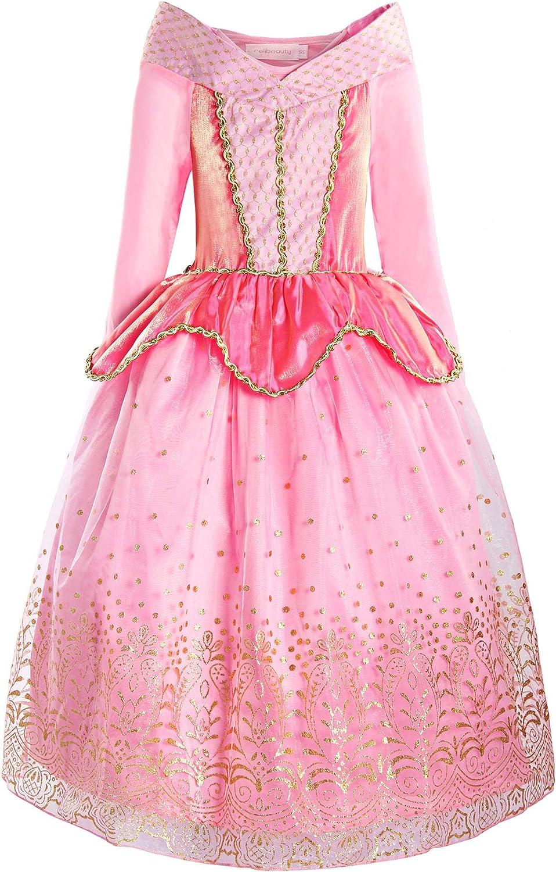 ReliBeauty Girls Princess Dress up Costume