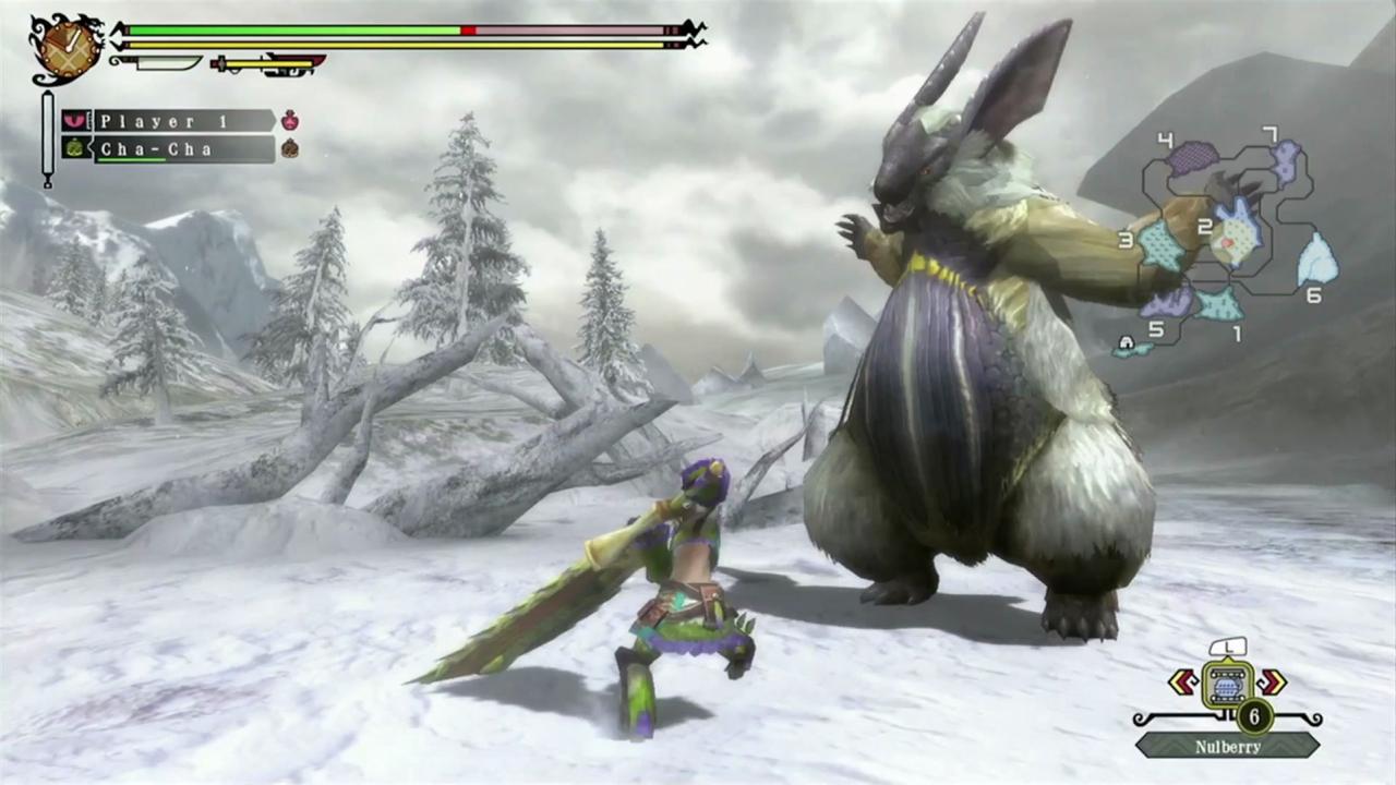 Monster Hunter 3 Ultimate Lagombi