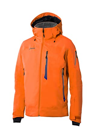 Phenix Hombre Boulder Jacket Chaqueta de esquí, Naranja, S